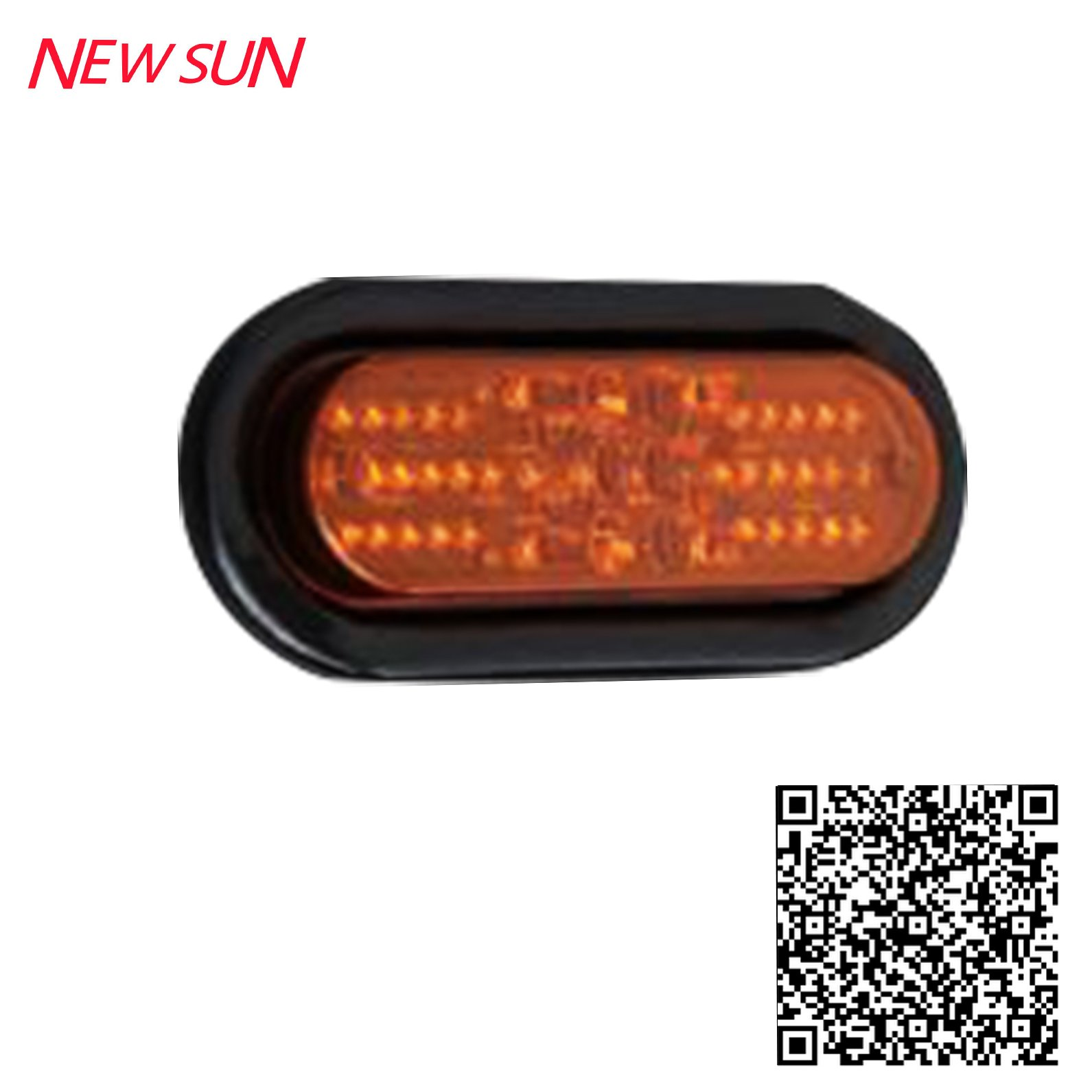 "LED 6"" OVAL TURN SIGNAL LIGHT(TK-TL164)"